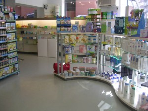 Decoración comercial - Farmacia -