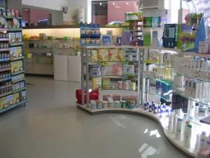 Decoración comercial - Farmacia -